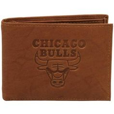 Rico Chicago Bulls Embossed Leather Billfold Wallet for $26.95 #FathersDay