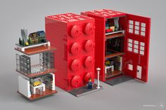 https://flic.kr/p/Mrrw87 | The AFOL Brick House - structure | BREAKING NEWS! Lego to go into the real estate market! Support this Lego Ideas project here! © 2016 - vedosololego - Gabriele Zannotti