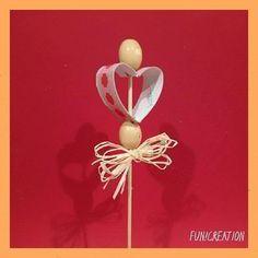 Zápich do květináče ze zbytku roličky od toaletního papíru #toiletpaperroll #toiletpaperrollcrafts #valentyn #valentinesday #rolicky #handcraft #recyklujeme #toiletpaper #heart #srdce #tvorim #vyrabim