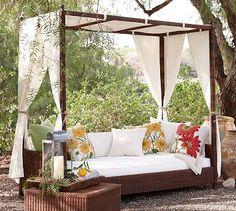 Romantic garden sofa
