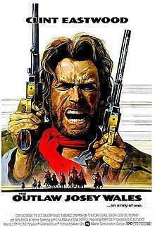 The Outlaw Josey Wales, 1976.  For being the original Army of One!  A role acted in Profound Perfection!  Perfect in the demonstration of the required back-bone and skill of Not-Takin'-Anymore-@#! from the  scumbag authorities (villains with tyrannical government behind them) that raged back in his day living in Missouri.  Villains be forewarned ... there are many copies of this DVD out among the rural castles.  You wouldn't want to be a bad-guy star in one of those movies!