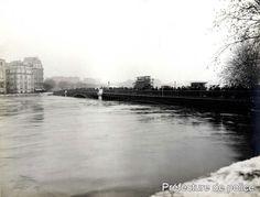 Pont de Sully. Paris Ve arr. 27 janvier 1910