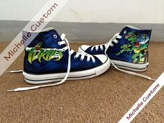 8a0e5997ac69 Child Converse Custom Child ShoesHand Painted by MichelleCustom