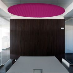 BuzziLand  Large office spaces or residential lofts often echo. This is an irritating problem which does little to encourage hard work or make a space cosy. BuzziSpace has developed the Buzziland and Buzzipod in sound-insulating felt: stick them to the ceiling or walls to dampen sounds without losing out on chic design.    Design by BuzziSpace Design Team  buzzispace.com