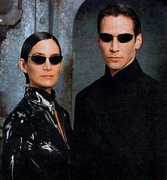 """Neo and Trinity, """"The Matrix"""""""
