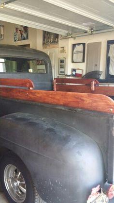 New wooden truck rails 1952 Ford Truck, Wooden Truck, Trucks, Vehicles, Truck, Car, Vehicle, Tools
