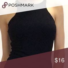 Halter top Amazing quality,  a must this season,  one e size fits small to large. Tops Tees - Short Sleeve