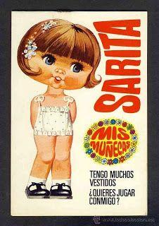 Bonecas de Papel: Coleção Cabeçudas MIS MUÑECAS 2