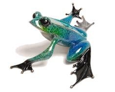 Frogman sculptures. Very high quality and expressive. They inspire some of my frog jewelry.