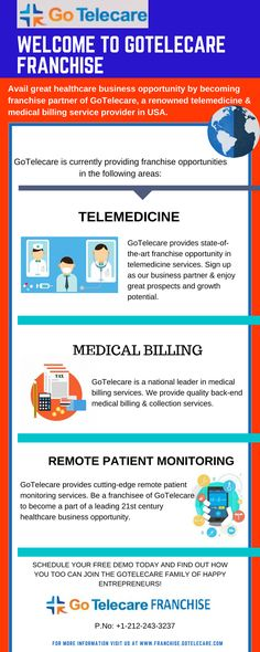 Avail the #franchise opportunity of #Gotelecare & earn huge prospects. Gotelecare is known in the field of #telemedicine and revenue cycle management for a very long time.
