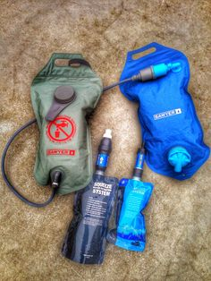 Sawyer waterfilter system. #survival