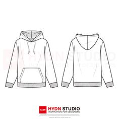 Zip-Up Hoodie Fashion Flat Template T Shirt Sketch, Flat Sketches, Crop Top Hoodie, Fashion Figures, Fashion Poses, Anime Outfits, Fashion Flats, Zip Ups, Trending Outfits