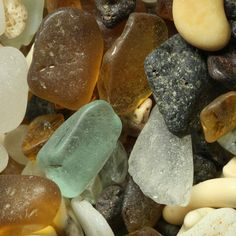 Grains of sand magnified 200 times