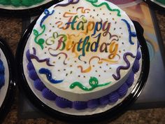 DQ cakes.  Dairy Queen...Ribbons