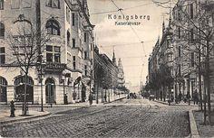 Königsberg, Kaliningrad, Kaiserstrasse