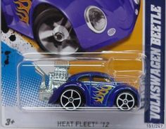 VW BEETLE in Blue Hot Wheels 2012 Heat Fleet Series 1:64 Scale Collectible Die Cast Car #005 by Hot Wheels. $0.01. Save 100%!