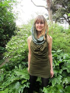 Draped Hooded Pixie Dress Hippy Goa Psytrance Party Forest Festival Wear on Etsy, $63.10 AUD