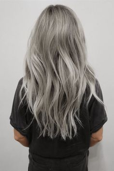 Grey Long Waves by Trends-Style