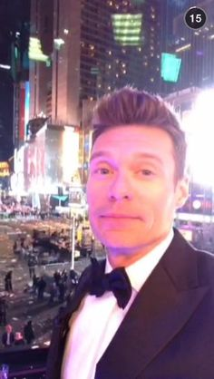 Pin for Later: 80+ Celebrities You Should Be Following on Snapchat Ryan Seacrest: ryanseacrest What he snaps: Photos with celebrity friends like Taylor Swift, Selena Gomez, Ed Sheeran, and more.