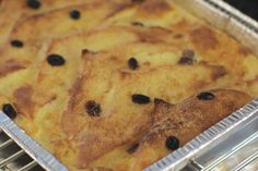 Bread And Butter Pudding Traditional Bread And Butter Pudding - WeberTraditional Bread And Butter Pudding - Weber Pudding Desserts, Pudding Recipes, Bread Recipes, Weber Bbq Recipes, Bbq Cookbook, Bread And Butter Pudding, Slice Of Bread, Sweets Recipes, Food Items