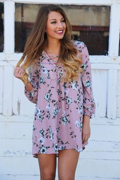 Your Valentine Floral Dress - The Rage - 1