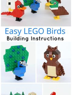 Simple Brick Birds Building Instructions