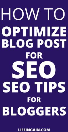 How to optimize blog post for SEO.SEO tips for Bloggers. Looking to increase your blog traffic check out the tips to grow  #seotipsforbloggers #seotips #seo #optimizeblogpost Seo Guide, Seo Tips, Content Marketing Strategy, Seo Marketing, What Is Seo, Seo Techniques, Search Engine Marketing, Search Engine Optimization, Blogging For Beginners