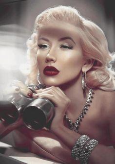 Christina Aguilera I'm loving this makeup