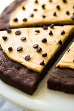 Who wants a slice of Chocolate Cookie Pizza? Top this decadent dessert with dark chocolate chips and peanut butter for a sweeter  twist on its savory sibling.