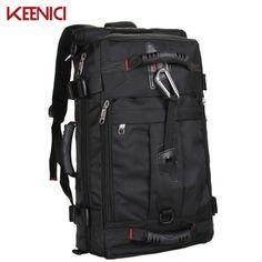 >>>best recommendedKEENICI Waterproof Hot Sale large capacity Laptop Backpack Men Mochila Masculina Man's Backpacks Men's Luggage