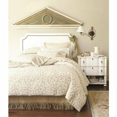 I Love Ballard Designs, Especially This Leopard Flannel Bedding!
