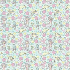 Fairy Kei Land - Small Print fabric by lithe-fider on Spoonflower - custom fabric