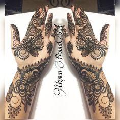 Bridal henna design.. Follow on Instagram and Facebook- Uzmashennaart..