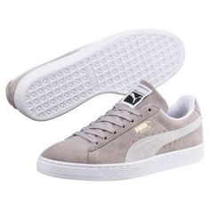 official photos 478f3 fead5 Thumbnail 2 of Suede Classic Sneakers in Ash-Puma White Grå, Shopping