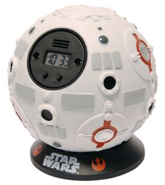 Forbidden Planet Star Wars - Jedi Training Ball Alarm Clock - Star Wars - Jedi Training Ball Alarm Clock - throw it at the wall the deactivate alarm! Star Wars Jedi, Star Wars Droids, Star Trek, Jedi Training, Star Wars Alarm Clock, Cadeau Star Wars, Star Wars Gadgets, Sabre Laser, Star Wars Bedroom