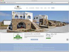 Κατασκευή ιστοσελίδας για ενοικιαζόμενα διαμερίσματα