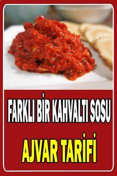 Farklı Bir Kahvaltı Sosu: Ajvar Tarifi - SosyoLife.net Turkish Breakfast, Breakfast Toast, Sauce Recipes, Chicken Recipes, Cooking Recipes, Fall Dinner Recipes, Easy Eat, Snacks Für Party, Perfect Food