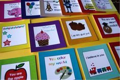 lunch box notes for kids | Review & Giveaway: Lunch Box Love Notes - Family Fresh Meals