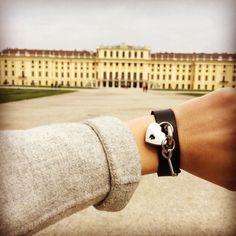 Heute COWstyle-Prinzessin sein in Wien #cowstyle #cowstylers #armband #leder #accessories #vienna #austria #schlossschönbrunn #prinzessin #forher #citytrip #umdiewelt Women Jewelry, Bangles, Models, Instagram Posts, Accessories, Style, Princess, Bracelets, Templates