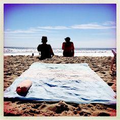 Inside Stephanie's Beach Bag: Brooklyn Beach Blanket
