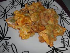 Receita Gratinado tortelinis de ricota e espinafres de ratatui dos pobres