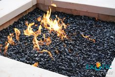 How to Build A Fire Pit - Choosing a Fire Pit, selecting materials, measuring, type of fire pits, and step by step instructions - Complete DIY Guide - FREE. How To Build A Fire Pit, Diy Fire Pit, Fire Pit Backyard, Fire Pits, Fire Pit Filler, Fire Pit Lava Rocks, Natural Gas Fire Pit, Types Of Fire, Modern Fire Pit
