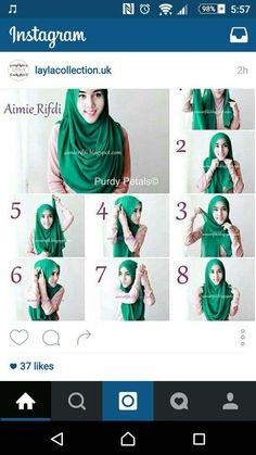 Tutoriels Hijab Modernes
