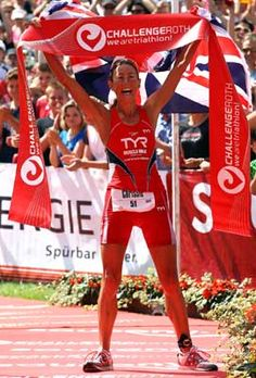 Chrissie Wellington. A truly inspirational woman. Beat bulimia and anorexia, then went on to become the iron man champion.