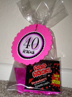 40th Birthday Gift Bags