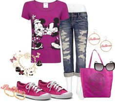 """Going to Disney!"" by fabulousego ❤ liked on Polyvore"