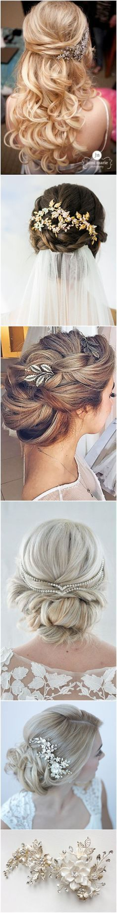 Wedding Hairstyles » Hair Comes the Bride – 20 Bridal Hair Accessories Get Style Advice for Any Budget