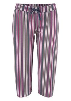 Capri-Hose / Schlafanzughose - Haushose - gestreift von Buffalo Gr. 32 (490646)  | eBay