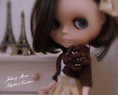 Blythe outfit Sweet parisiene girl by juliettaexussetta on Etsy, €25.00