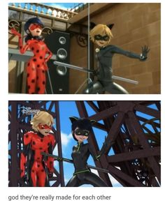 Miraculous Ladybug and Chat Noir: Why Don't They Know Yet? Comics Ladybug, Meraculous Ladybug, Miraculous Ladybug Wallpaper, Miraculous Ladybug Fan Art, Les Miraculous, Ladybug Und Cat Noir, Ladybug And Cat Noir Reveal, Miraculous Characters, Marinette And Adrien